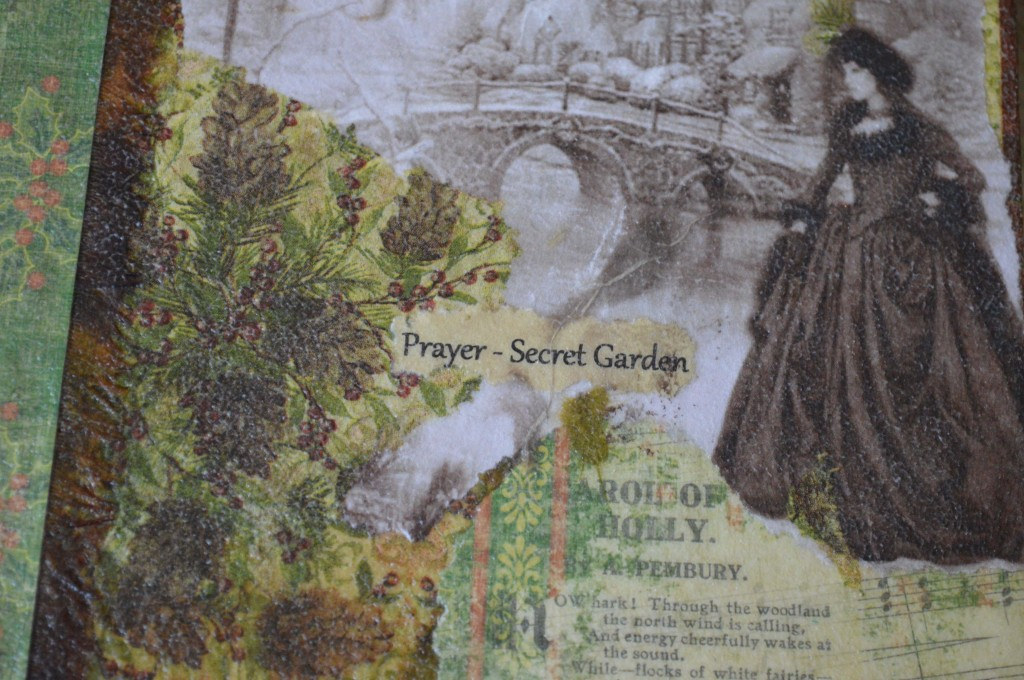 Secret Garden - Prayer is the name of this journal.
